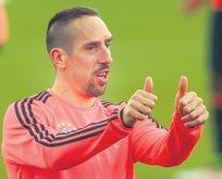 Ribery heyecanı