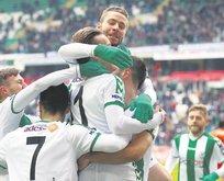 Konyaspor, Rize'ye geçit vermedi