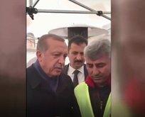 Erdoğan Hayır çadırında Evet i anlattı