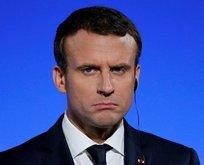 Macron düşüşü ciddiye almadı