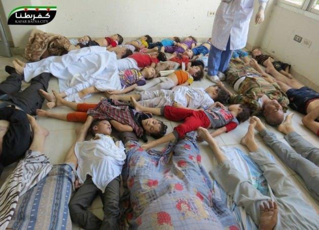 Suriye katliamının kan donduran fotoğrafları