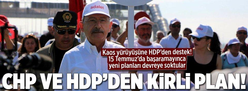 CHP ve HDPden kaos planı!