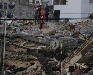Meksikayı deprem vurdu! Feci görüntüler geliyor...