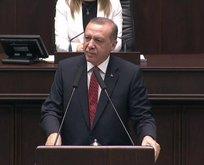 Erdoğandan tarihi mesajlar