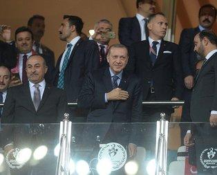 Cumhurbaşkanı Erdoğan, Antalya Stadı'nda!