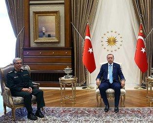 İran Genelkurmayından Türkiyeye 9 komutanla ziyaret