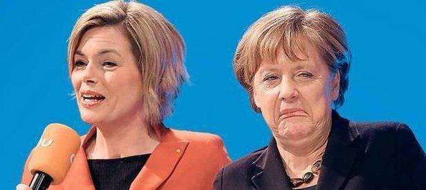 Merkelin yardımcısı Klöcknerden küstah sözler