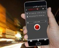 Akıllı telefonlara panik butonu