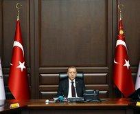 Erdoğan ile ilk MKYK toplantısı