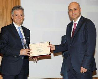 İpek projesi ödül aldı
