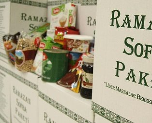 Ramazan paketlerinde son kullanım tarihine dikkat