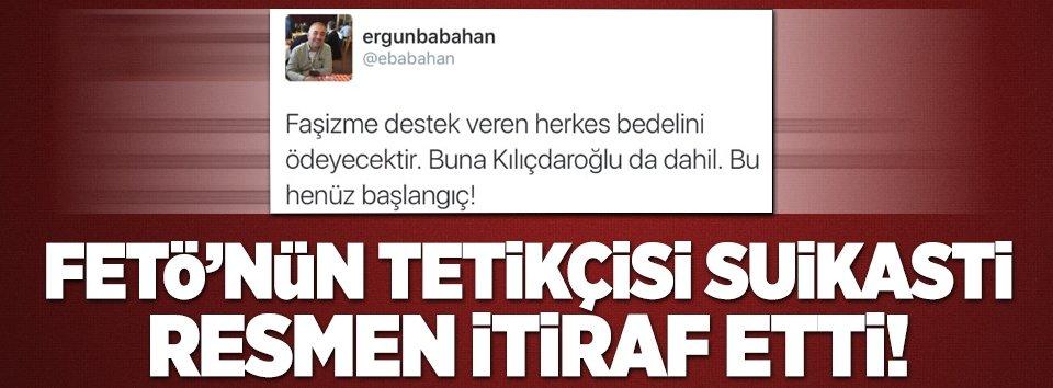 FETÖ tetikçisi Kılıçdaroğlunu tehdit etti