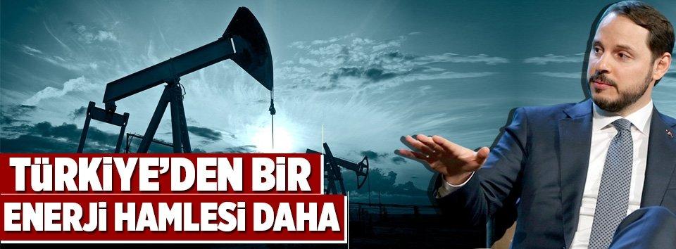 Türkiye'den bir enerji hamlesi daha