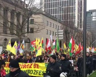 Türk Bakanlara yasak  PKK'ya serbest!
