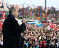 Erdoğandan Kılıçdaroğluna: İspat et bırakacağım