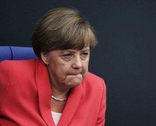 Merkel'e kötü haber