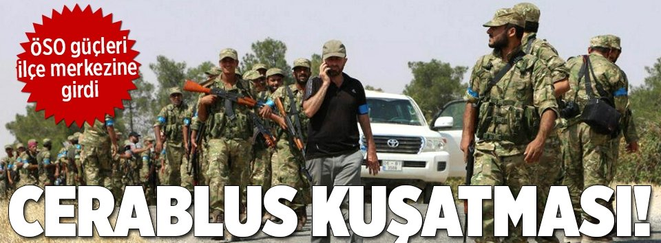 ÖSO güçleri ilçe merkezine girdi