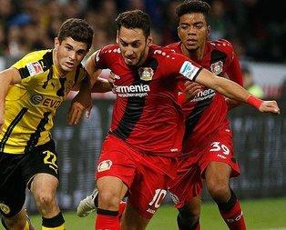 Bundesligada haftanın futbolcusu Hakan Çalhanoğlu
