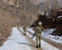 Çukurcada PKKnın kış üslenmesine darbe