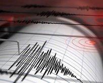 21 saniye arayla iki ayrı deprem