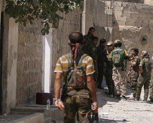 YPG o bölgeye mühimmat yığdı!