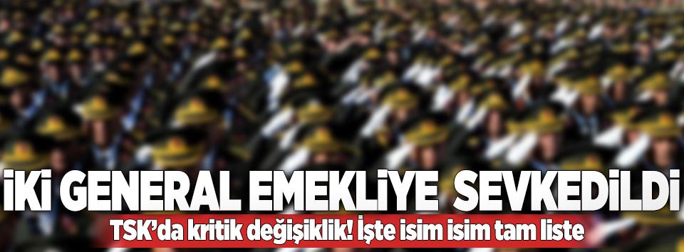 Jandarma terfi kararnamesi açıklandı