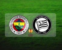 Fenerbahçe-Sturm Graz maçı ne zaman? Hangi kanalda?