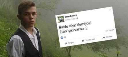 Tüm Türkiye #Ereniyikivarsın diyor