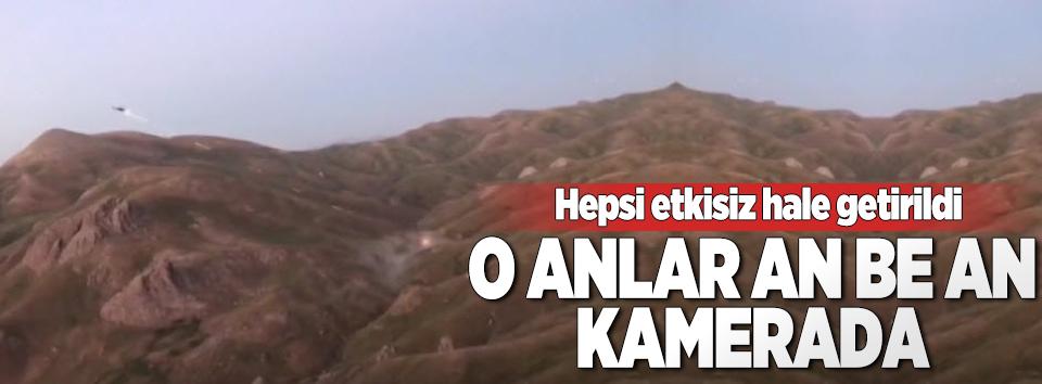 Şırnakta PKKlı teröristlerin öldürüldüğü anlar