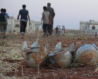 Rusya misket bombasıyla saldırdı