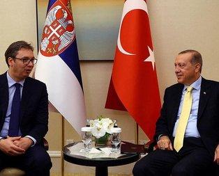 Cumhurbaşkanı Erdoğandan kritik temaslar