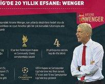 Premier Ligde 20 yıllık efsane: Wenger