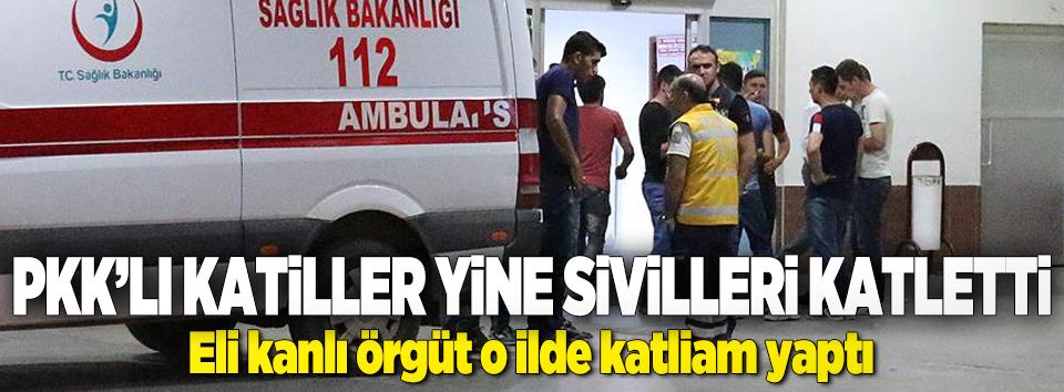 PKKlı katiller yine sivilleri katletti