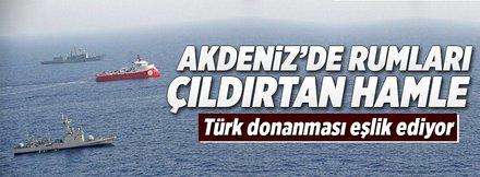 Türkiye'den Akdeniz hamlesi