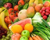 Uzmanlar şok gerçeği açıkladı! Meyve ve sebzeler...