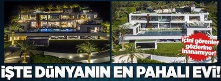 ABD'nin en pahalı evi yeni sahibini bekliyor!