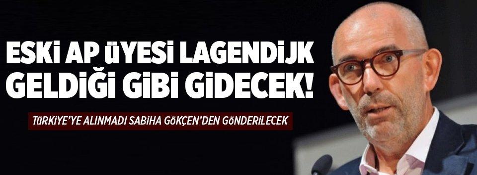 Joost Lagendijk sınırdışı edilecek