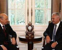 AK Parti anayasa teklifini MHPye sundu