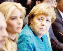 Angela Merkel'e Trump işkencesi!