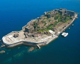 James Bond filminin çekildiği Japonyanın hayalet adası