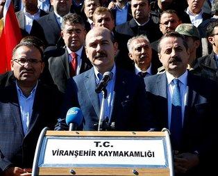 Bakan Soylu'dan hain saldırıya ilişkin açıklama