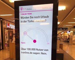 Almanyadan alçak Türkiyeye gitmeyin uyarısı