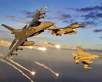 Terör örgütü PKKya bombardıman