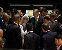Erdoğandan Yükselin ailesine taziye ziyareti