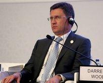 Rusya Enerji Bakanı'ndan flaş açıklamalar