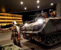 Darbe gecesi 65 araç çıkarıp, sivilleri ve polisleri şehit ettiler