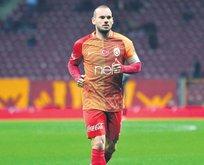 Sneijder'de büyük şüphe